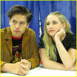 Lili Reinhart Pretty Much Calls Cole Sprouse a 'Thing of Beauty,' He Responds