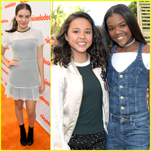 Breanna Yde Gets Support From Lilimar & Riele Downs at 'Escape From Mr. Lemoncello's Library' Premiere