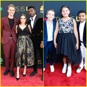 'This Is Us' Teens Logan Shroyer, Hannah Zeile & Niles Fitch Step Out For Premiere Event