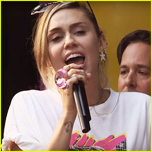 Miley Cyrus Sings 'See You Again,' 'Party in the U.S.A.' & More for BBC Radio 1 Live Lounge - Watch!