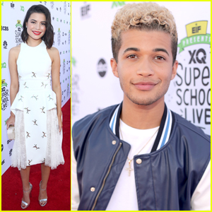 Miranda Cosgrove & Jordan Fisher Hit Up XQ: The Super School Project