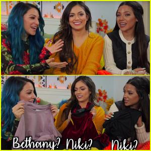 Niki & Gabi Take New Shopping Challenge With Bethany Mota - Watch Now!