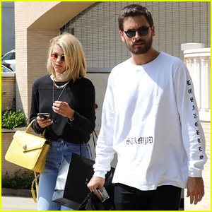 Sofia Richie & Scott Disick Team Up for Beverly Hills Shopping Trip