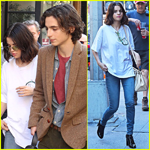 Selena Gomez & Timothee Chalamet Film New Scenes for Woody Allen Movie