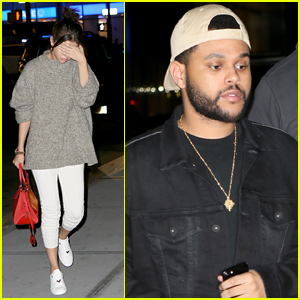 Selena Gomez & Boyfriend The Weeknd Enjoy Date Night in NYC!