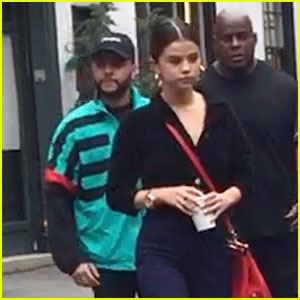 Selena Gomez & The Weeknd Have Coffee Date in New York City