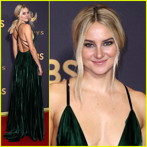 Shailene Woodley Goes Green For Emmy Awards 2017