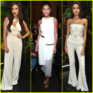 Shay Mitchell, Madison Beer & Miss Teen USA Sophia Dominguez-Heithoff Take On NYFW 2017
