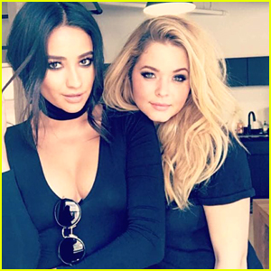 Shay Mitchell Says Sasha Pieterse Didn't Tell Anyone About Her DWTS Gig!