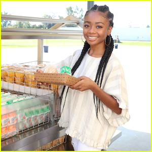 Skai Jackson Combats Childhood Hunger with No Kid Hungry