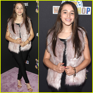 Sky Katz Has So Much Fun at the 'My Little Pony' Premiere!
