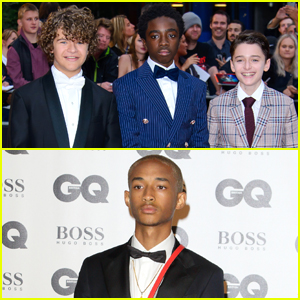 The 'Stranger Things' Guys Suit Up for the GQ Men of the Year Awards!