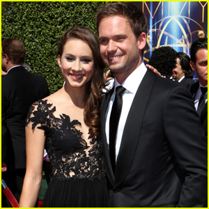 Patrick J. Adams is Inspired By Wife Troian Bellisario