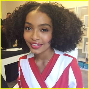 Yara Shahidi Makes a Political Statement Without Saying a Word