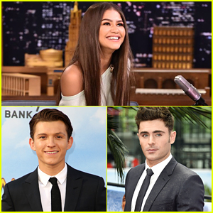 Zendaya Got The Sweetest Birthday Wishes From Co-stars Tom Holland & Zac Efron