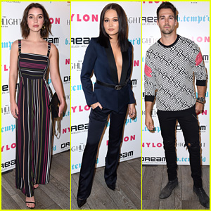 Adelaide Kane, Kelli Berglund, & James Maslow Attend Star-Studded 'Nylon' It Girl Party