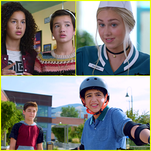 Amber is Being Nice To Andi & Cyrus Learns To Skateboard in Brand New 'Andi Mack' Teasers - Watch!