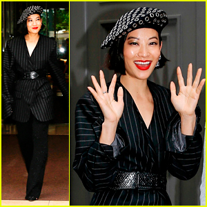 Arden Cho Has Chic Photoshoot in Paris Before Convention This Weekend