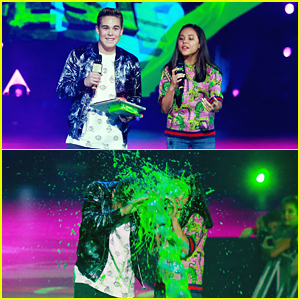 Breanna Yde & Ricardo Hurtado Get Slimed Bad During Slimefest 2017
