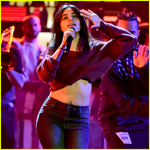 Camila Cabello Puts Time Into Latin American Music Awards Rehearsals