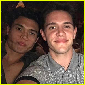 'Riverdale' Stars Casey Cott & Charles Melton Drag Each Other on Twitter Over Christmas Music
