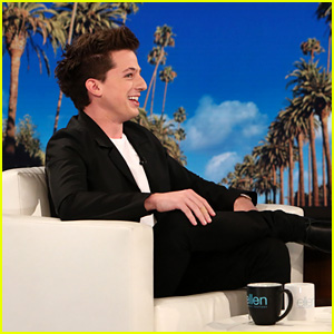 Charlie Puth Gets Totally Nervous When Ellen DeGeneres Asks Him Who 'Attention' Was Written About!