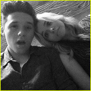 Chloe Moretz Shares Super Cute Throwback With Brooklyn Beckham