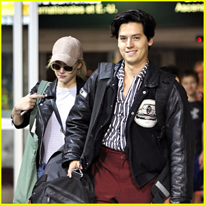 Riverdale's Cole Sprouse & Lili Reinhart Travel Back to Canada Together!