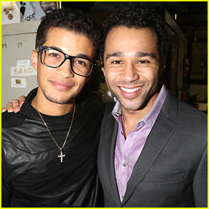 Corbin Bleu Will Dance With Jordan Fisher For Trio Rounds on DWTS