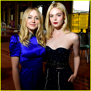 Elle & Dakota Fanning Have Sister Time in Paris!
