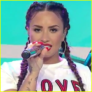 Demi Lovato Performs 'Tell Me You Love Me' & 'Sorry Not Sorry' on 'Today' - Watch!