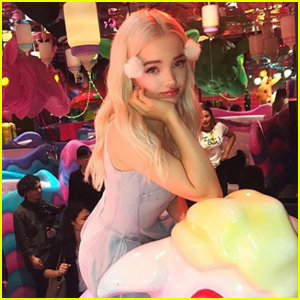 Dove Cameron's Fans Got Her the Most Amazing Gifts in Japan!