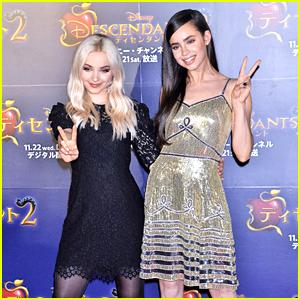 Dove Cameron & Sofia Carson Celebrate 'Descendants 2' Premiere in Tokyo