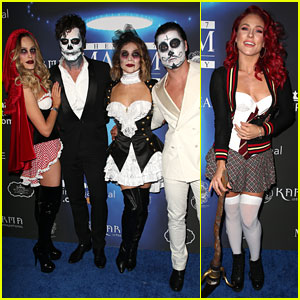 'DWTS' Pros Take Over Maxim Halloween Party
