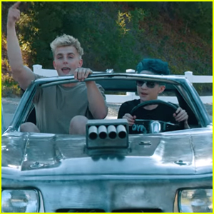 Dynamite Dylan Is In Jake Paul S Car