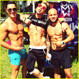 Frankie Grande Celebrates LGBTQ Pride at Orlando Event