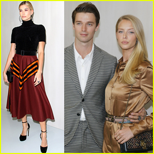 Hailey Baldwin Joins Patrick Schwarzenegger & Abby Champion at Hammer Museum Gala
