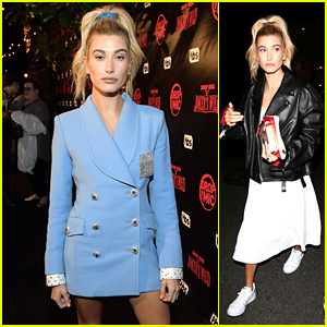 Hailey Baldwin Stays Stylish at 'Drop the Mic' Premiere Party!