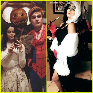 Camila Mendes, Ashley Tisdale & Chelsea Kane Top Our Fave Halloween Costumes of 2017