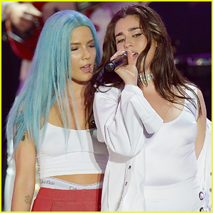 Lauren Jauregui Joins Halsey on Stage For 'Strangers' Duet - Watch Now!