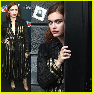 Holland Roden Plays Into The Creep Factor at NYCC For New Project 'Lore'