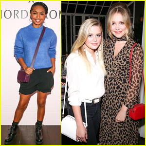 Yara Shahidi & Ava Phillippe Team Up for Pop & Suki x Nordstrom Event