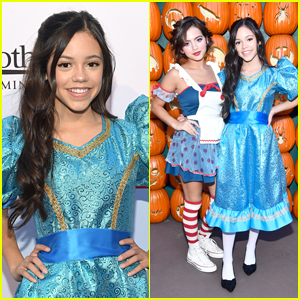 Jenna Ortega, Isabela Moner, In Real Life & More Step Out for Dream Halloween 2017