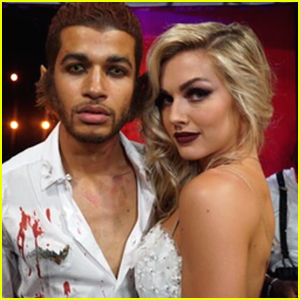 Jordan Fisher & Lindsay Arnold Deliver an Amazing Paso Doble For DWTS Season 25's Halloween Night (Video)