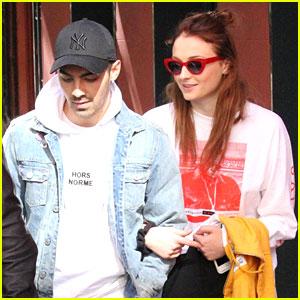 Joe Jonas & Fiancee Sophie Turner Enjoy Madrid Post Engagement