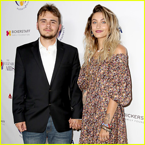 Prince & Paris Jackson Make Rare Appearance Together at AIDS Foundation Fundraiser