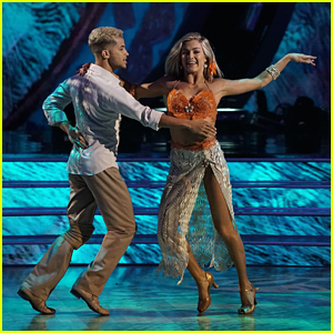 Jordan Fisher & Lindsay Arnold Foxtrot to Moana's 'You're Welcome' DWTS Season 25 Week 5