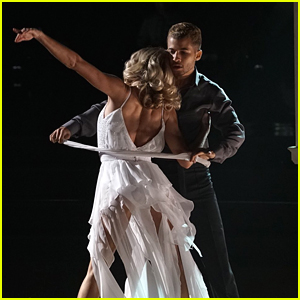 Jordan Fisher Dances A Dramatic Rumba For DWTS Night at the Movies (Video)