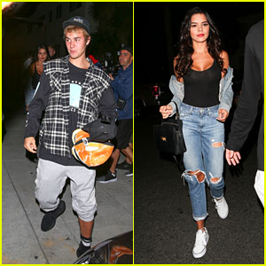 Justin Bieber Leaves Church Again With Rumored New Love Interest Paola Paulin!
