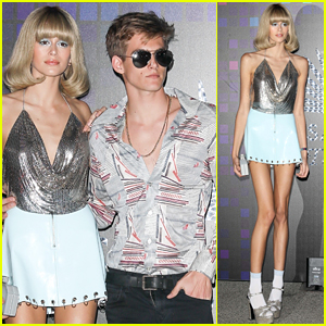 Kaia & Presley Gerber Team Up for Casamigos Halloween Party